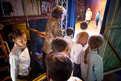 Link to Backstage photos of Young Actors Workshop, Arden Shakespeare Gild
